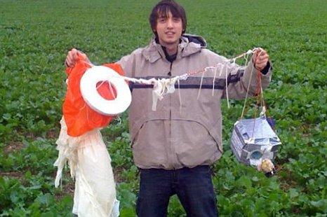Школьники отправили картошку в космос