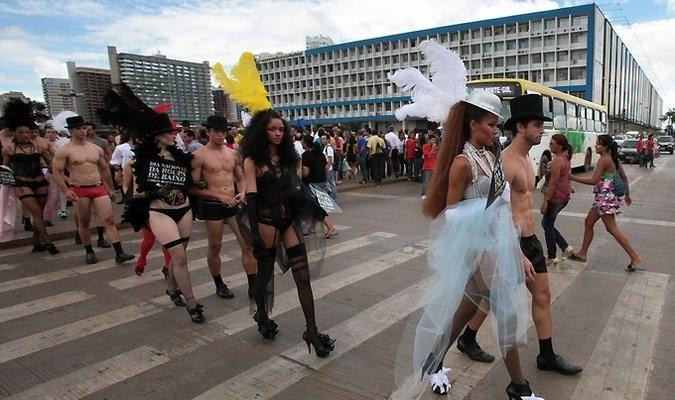 В Бразилии произошел национальный день нижнего белья