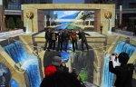 Ущелье Львиные Врата – самая большая 3D картина в мире