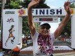 92-летняя Гледис Беррил пробежала марафон