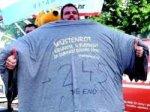 Хорват надел на себя 245 футболок