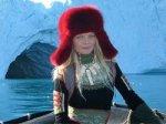 Лену Кулецкую приняли в Гренландии за медведя