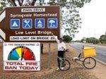 Российский пенсионер на велосипеде проехал Австралию