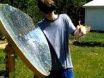 Американским студентом создана солнечная пушка