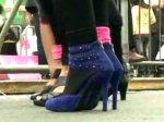 В Перу состоялся забег девущек на каблуках