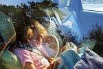 Девочка умерла в машине,закрытой её отцом