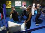 Бои подушек стали международным соревнованием