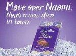 Наоми Кэмбелл против шоколадки