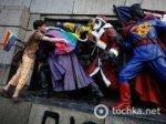 В Болгарии покрасили памятник воинам-освободителям