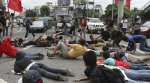 Ны Филиппинах плэнкинг был использован как знак протеста
