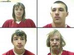 Дед, мать и сын задержаны за производство наркотиков