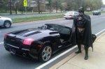 В США дорожная полиция остановила Бэтмена