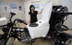 Японцы создали мотоцикл, работающий на навозе