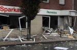 Немецкие грабители нечаянно взорвали банк