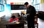 В китайской школе учится лишь одна ученица