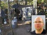 Американец почти 30 лет жил в лесу, питаясь ворованной едой