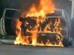 Женщина подожгла машину, сказала, что она – Бог