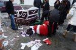 В Польше пьяный Санта-Клаус испортил всем праздник