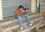 Подросток с игрушечным пистолетом ограбил банк